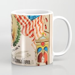 1863 Emancipation Proclamation by President Abraham Lincoln Coffee Mug