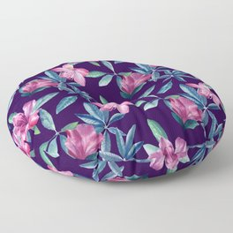 Rhododendron Floor Pillow