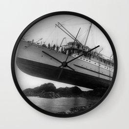Shipwreck - SS Princess May - August 5, 1910 Wall Clock