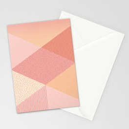 SUNSET PALETTE Stationery Cards