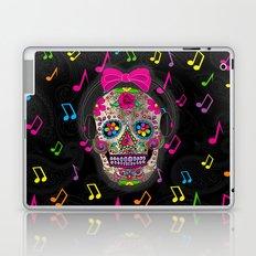 Sugar Skull Music Laptop & iPad Skin