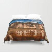 castle Duvet Covers featuring Castle by DistinctyDesign