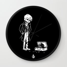 Newt and niffler - fantastic beasts Wall Clock