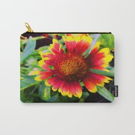 Halo Blanket Flower Carry-All Pouch