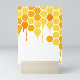 Honey Comb Mini Art Print