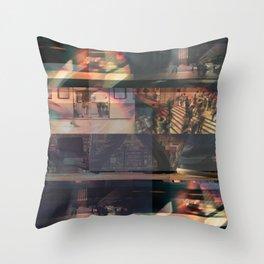 City collage Throw Pillow
