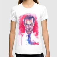 moriarty T-shirts featuring Jim Moriarty by Claudia Marianno