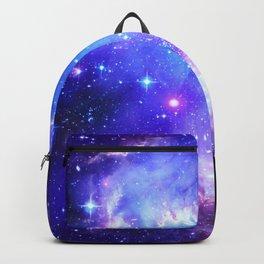 Galaxy Nebula Blue Backpack