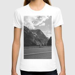 Monochrome Yosemite Drives T-shirt