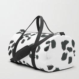 Black and white summer Duffle Bag