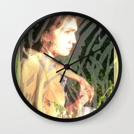 Justin's Journey #240 Wall Clock