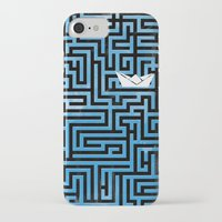 labyrinth iPhone & iPod Cases featuring Labyrinth by Stoian Hitrov - Sto