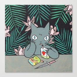 Juice Box Canvas Print