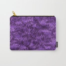 Marbled Paisley - Purple Carry-All Pouch