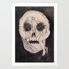 Lady death Art Print