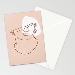 Head of a Youth-Greek Art Stationery Cards