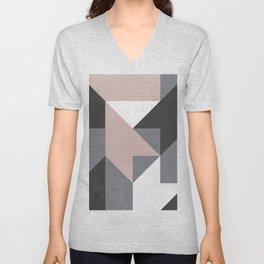 geometric 1 Unisex V-Neck