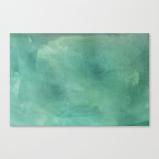 Turquoise Stone Texture Canvas Print