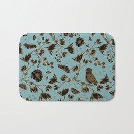 Orchid Owl Verdigris Bath Mat