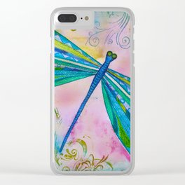 Dragonfly II Clear iPhone Case