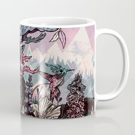 Journeying Spirit (deer) sunset Coffee Mug