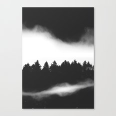 The Woods are calling Canvas Print
