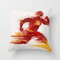 Speed v.2 Throw Pillow