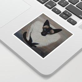 The Siamese Cat Sticker