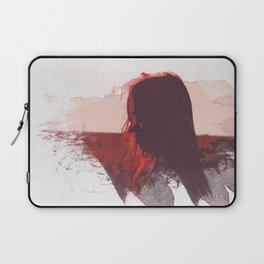 Sunset Girl Laptop Sleeve