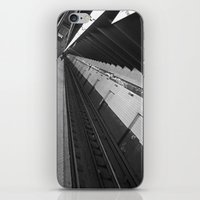 subway iPhone & iPod Skins featuring Subway by Laura Gomez