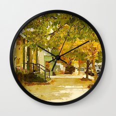 Norway, ME Wall Clock