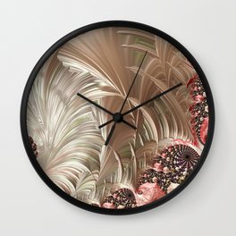 Pink Pearlesque Wall Clock