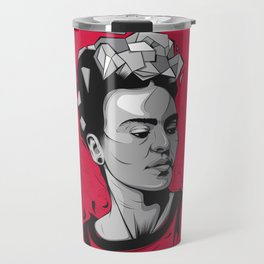 Frida Kahlo - Trinchera Creativa Travel Mug