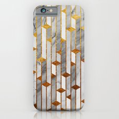 Marble skyscrapers iPhone 6 Slim Case