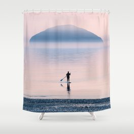 Heading to Blue Island Shower Curtain