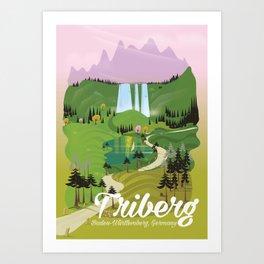 Triberg ,Baden-Württemberg, Germany Art Print