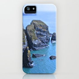 Inhabited island iPhone Case
