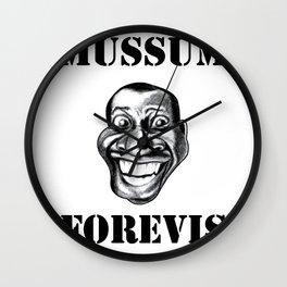 Mussum Forevis Wall Clock