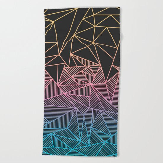 Brody Rays Beach Towel