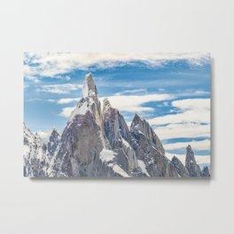 Cerro Torre. Parque Nacional Los Glaciares. Argentina Metal Print