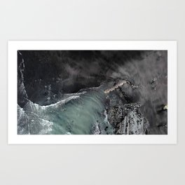 Eye in the west coast sky Art Print