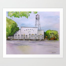 Gruene Hall - Oldest Dance Hall in Texas Art Print