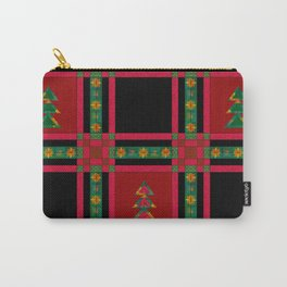 Christmas. Patchwork . Carry-All Pouch