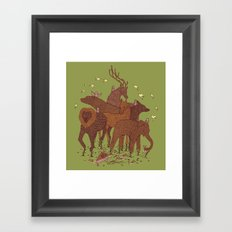 Topiary Framed Art Print