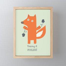 Get Your Mittens On! Framed Mini Art Print