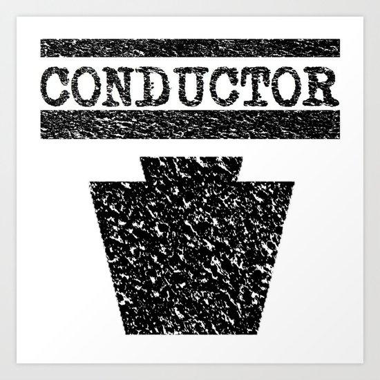 Conductor - Keystone Logo Art Print