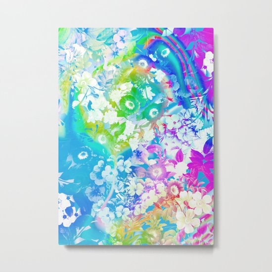 Forest Rave Metal Print