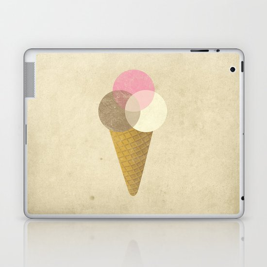 Ice Cream Venndor Laptop & iPad Skin