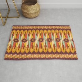 Colorful ethnic pattern Rug