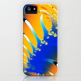 Lava Meets the Sea Fractal iPhone Case
